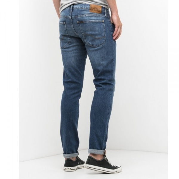 Bilde av Lee Jeans - Luke Slim Chelsea aged washed