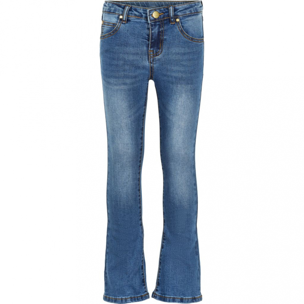 Bilde av The New - Flared jeans blue