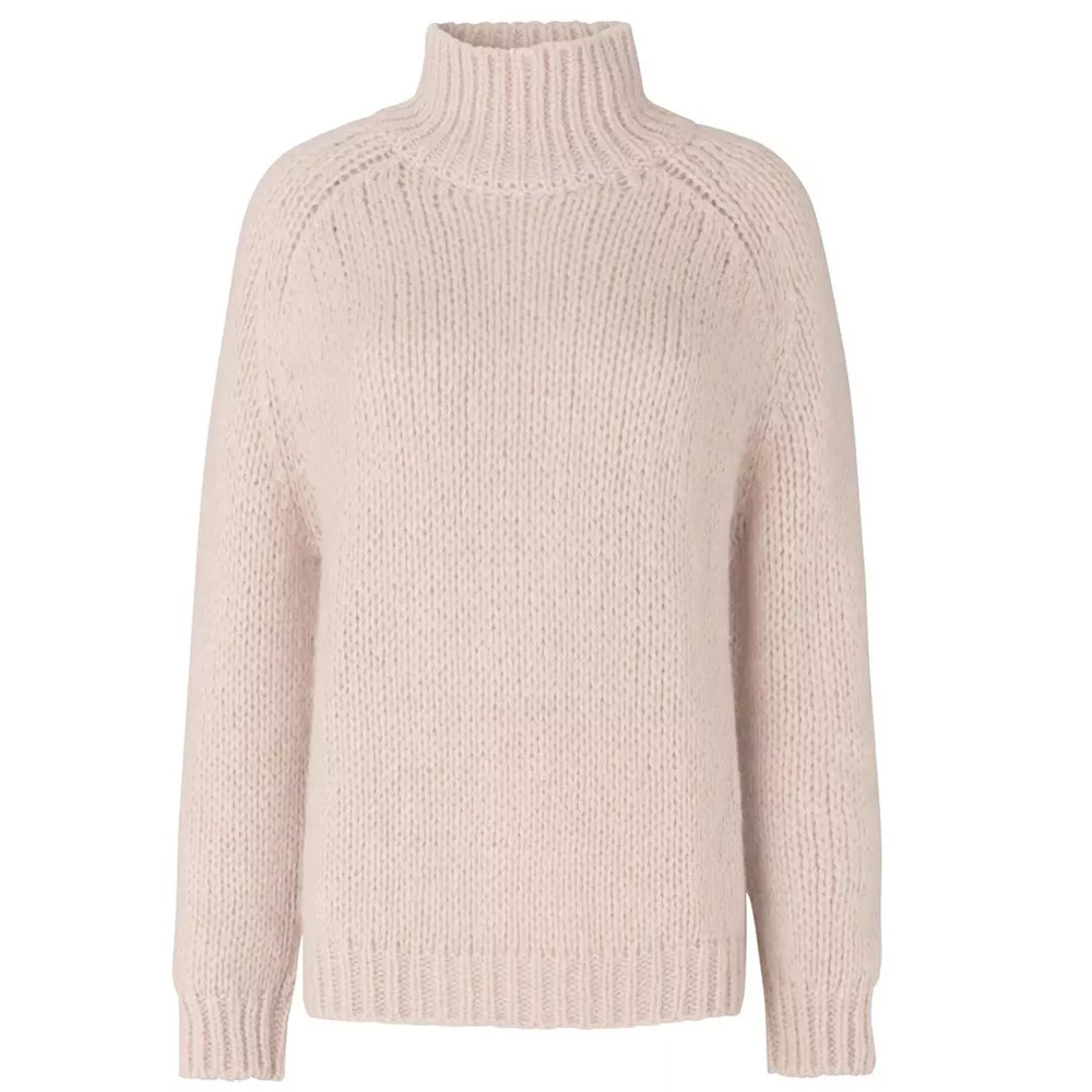 Bilde av Second Female - Ivory Knit T-Neck