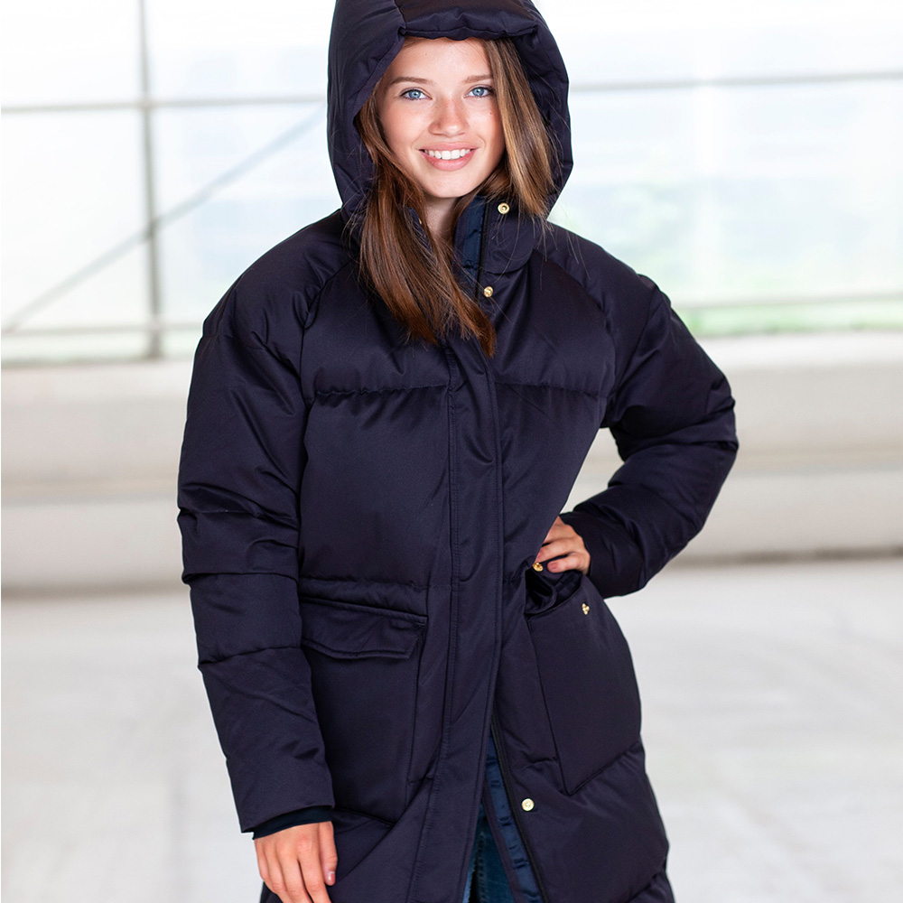 Bilde av Fleischer Couture - Pullox Down Coat Kids Deep Well